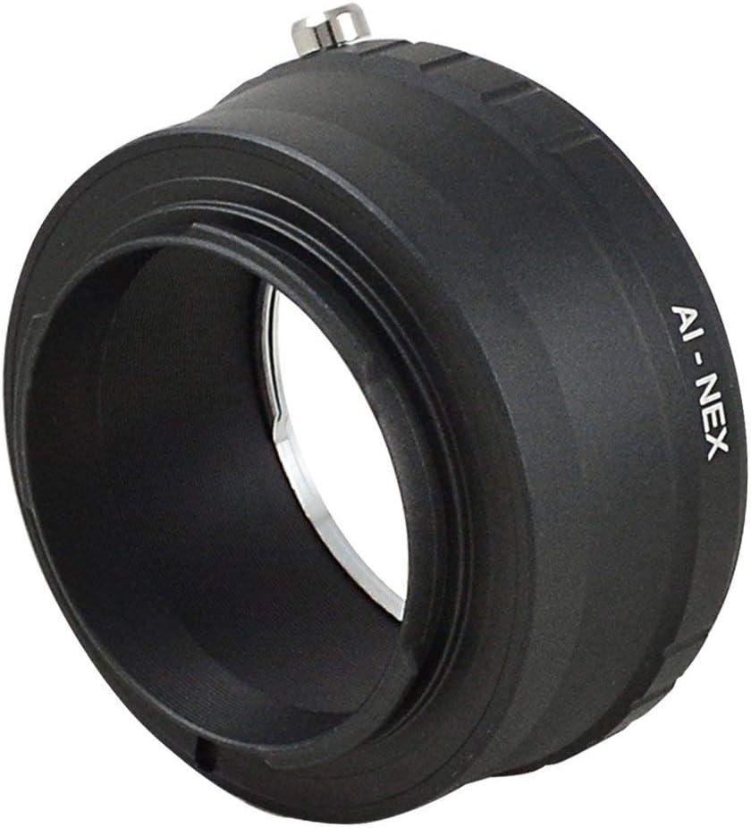 -NEX Objektiv Mount Adapter Ring f/ür Nikon AI Objektiv auf Sony NEX-3 G NEX-5 Kamera geh/äuse aus Aluminium Material MENGS AI
