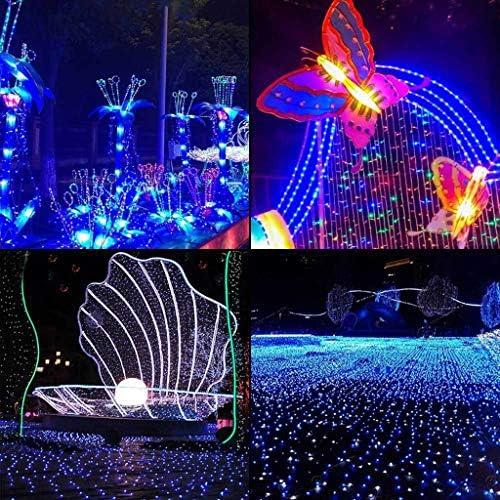 KELITE Schnur-Licht-Solar-Charged Kupferdraht Weihnachten Dekorative Fee Beleuchtung for Outdoor/Indoor Patio-Garten-Yard-Partei-Hochzeit (Color : White)