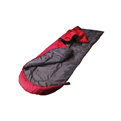 Saco de Dormir con Cremallera, Portable y Impermeable para Camping Al Aire Libre (Rojo): Amazon.es: Deportes y aire libre
