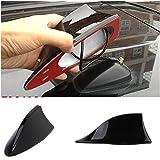 Benjoy Car Shark Fin Roof Antenna Radio FM/AM Car Accessories Decorate Black For Hyundai i10 Grand
