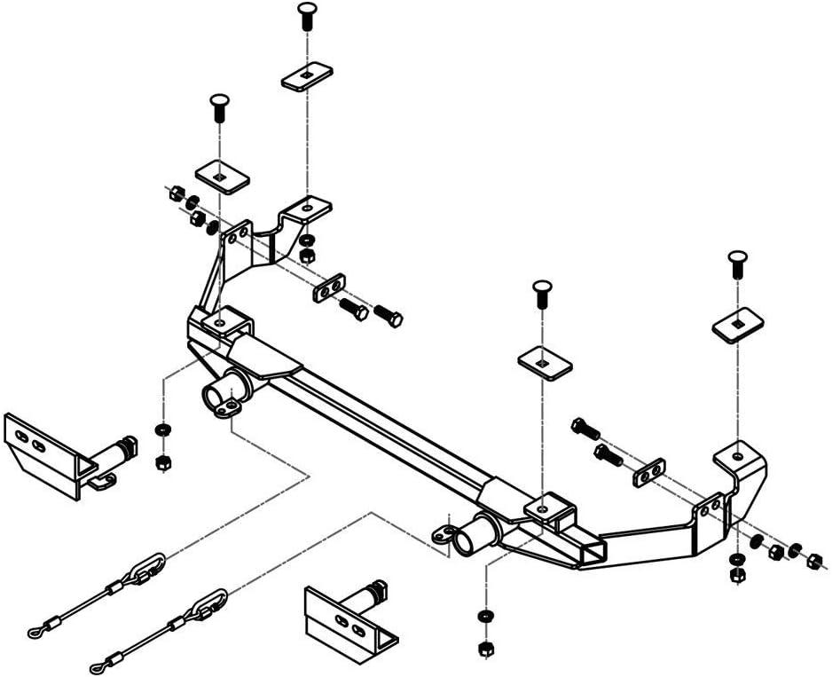 Roadmaster 5231455 Tow Bar Mounting Bracket