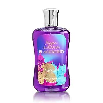 bath body works napa autumn blackberry 100 oz shower gel