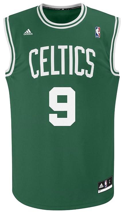 eebe1c715a3 NBA Boston Celtics Green Replica Jersey Rajon Rondo #9, X-Large ...