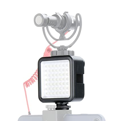 fd421bd9899d Ulanzi Ultra Bright LED Video Light - LED 49 Dimmable High Power Panel Video  Light for DJI Ronin-S OSMO Mobile 2 Zhiyun WEEBILL Smooth 4 Gimbal for  Canon ...