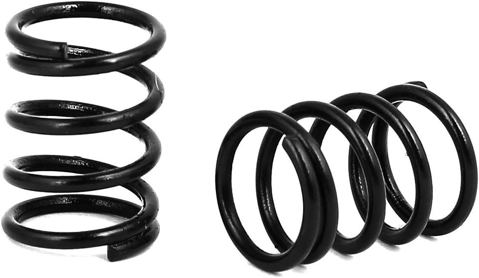 uxcell11mm Outer Diameter 1.2mm Wire Dia 15mm Long Compression Spring 20Pcs