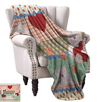 Amazon.com: Anyangeight Digital Printing Blanket,Funny Teddy ...