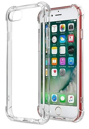 HUSHCO Funda iPhone 6 iPhone 6s (Transparente): Amazon.es ...