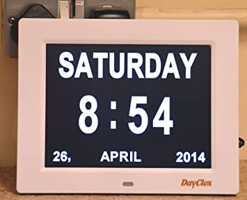 Dayclox i7.6 - Reloj y calendario digital