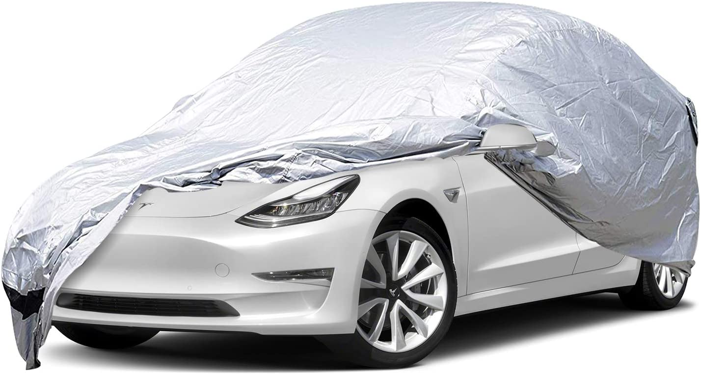 BougeRV for Tesla Model 3 Car Cover Accessories All ...
