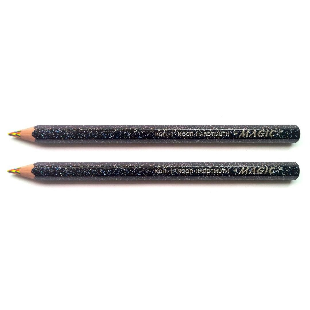 3405 Magic America. Pencils With Special Multicoloured Lead Koh-I-Noor Magic