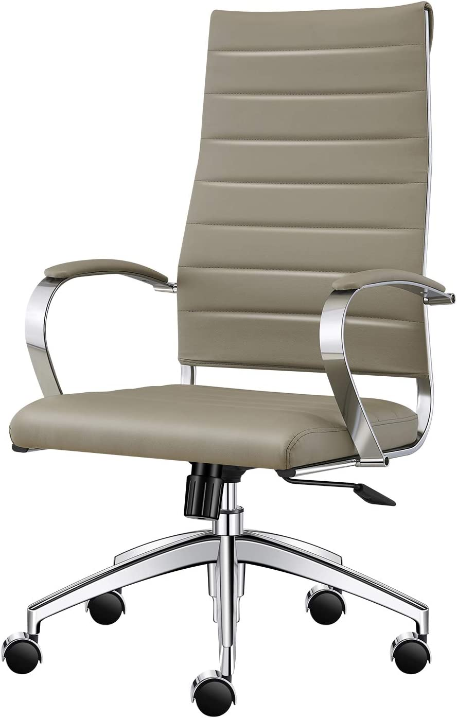 High Back Office Desk Chair-Grey