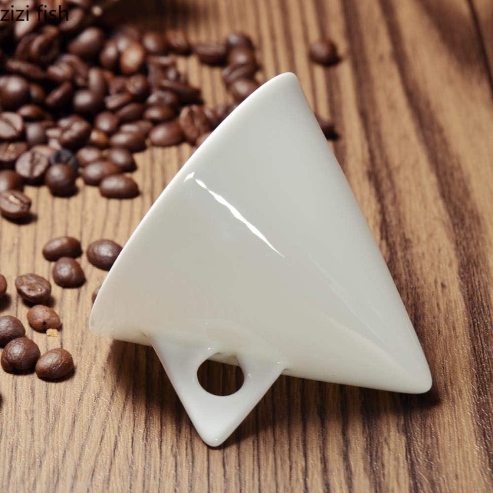 Mug,Tazza Personalizzata Colazione,Tazza Da Caff/è Conica In Ceramica Bianca Pura Set Di Piatti Per Tazza Da Caff/è In Porcellana A Forma Di Caff/è Espresso Tazas De Ceramica Creativas