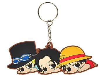 CoolChange Llavero de One Piece con Figura Chibi de Sabo ...