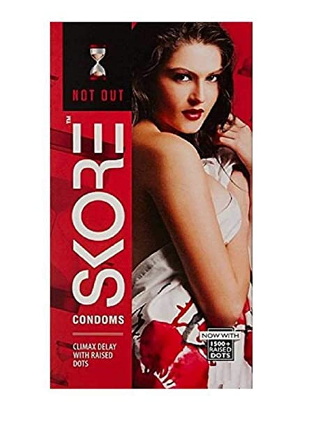 Skore Condoms Raised Dots with Xtra Lub - 10S Family Planning & Contraceptives at amazon