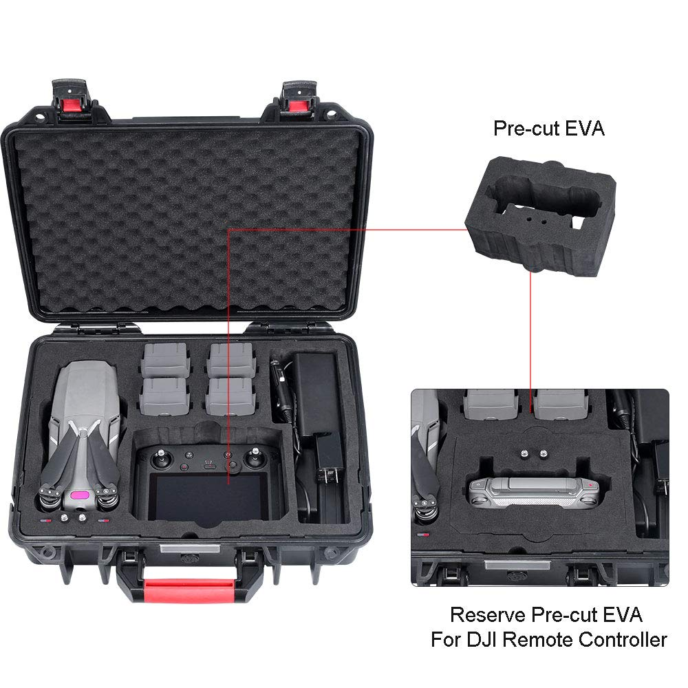 Smatree Carrying Case Compatible with DJI Mavic 2 Pro/DJI Mavic 2 Zoom and DJI Smart Controller by Smatree (Image #3)