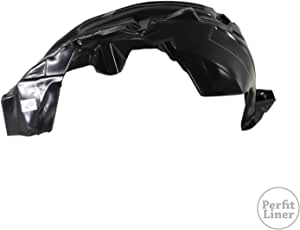 Partslink Number NI1250128 OE Replacement Nissan//Datsun Frontier Front Driver Side Fender Splash Shield