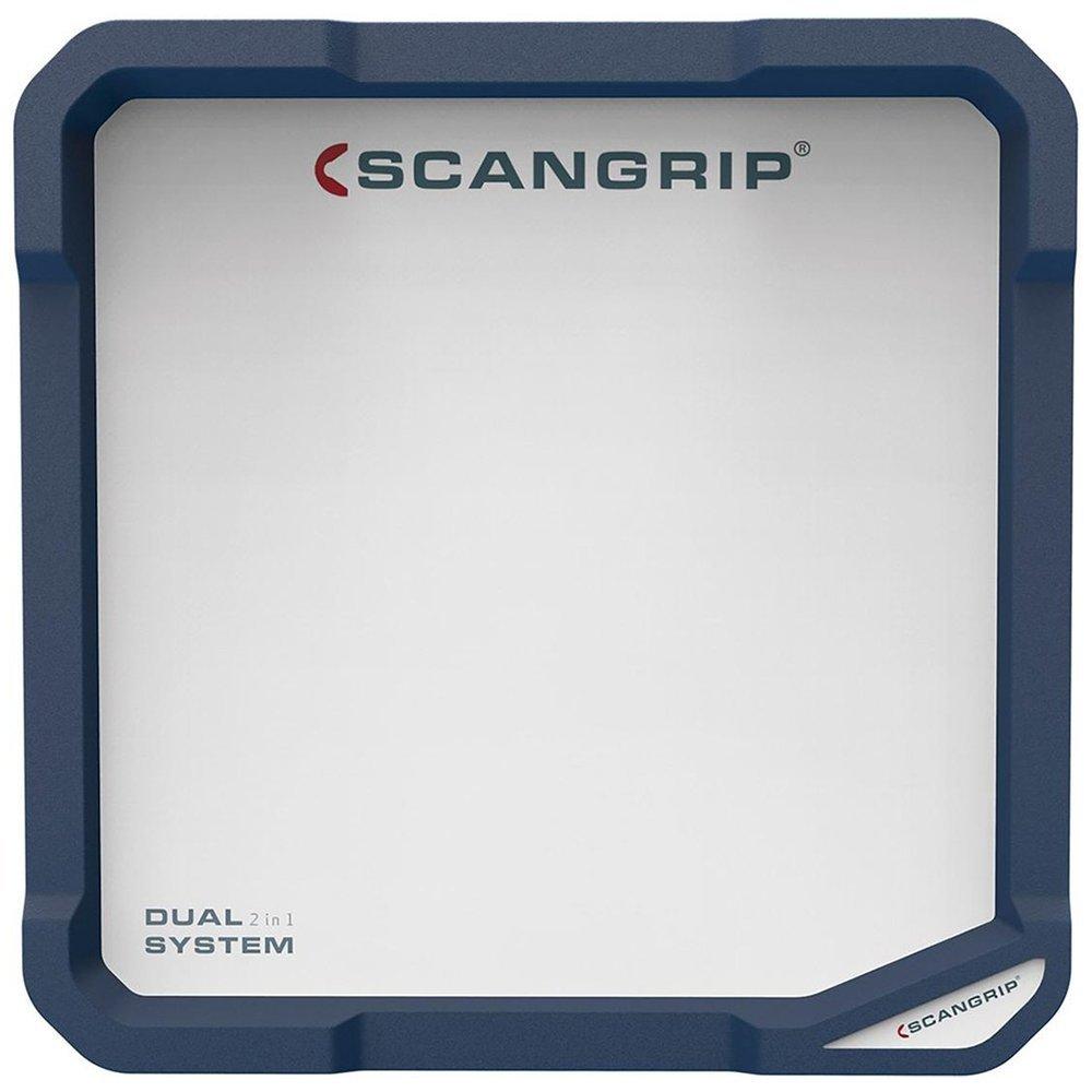 Turquesa Scanprip 815451 Scangrip-Foco Profesional de Trabajo Vega Lite C+R 1500 Flood DUALSYSTEM 288x103x208 mm