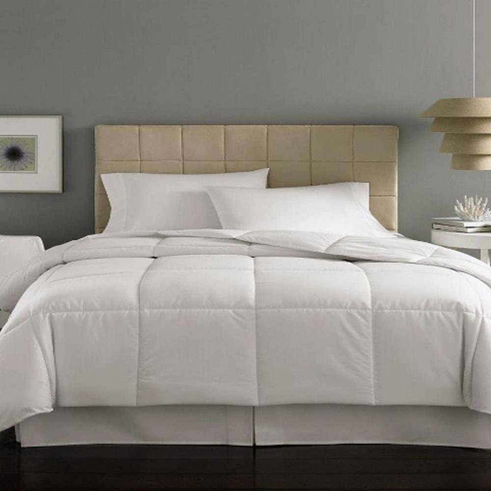 Beau Amazon.com: Home Design MiniStripe Down Alternative Queen Comforter: Home U0026  Kitchen