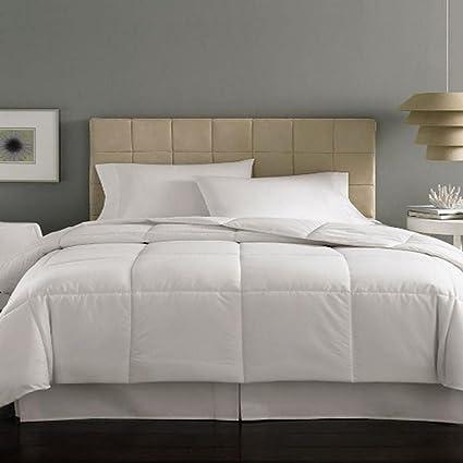 Home Design MiniStripe Down Alternative Queen Comforter