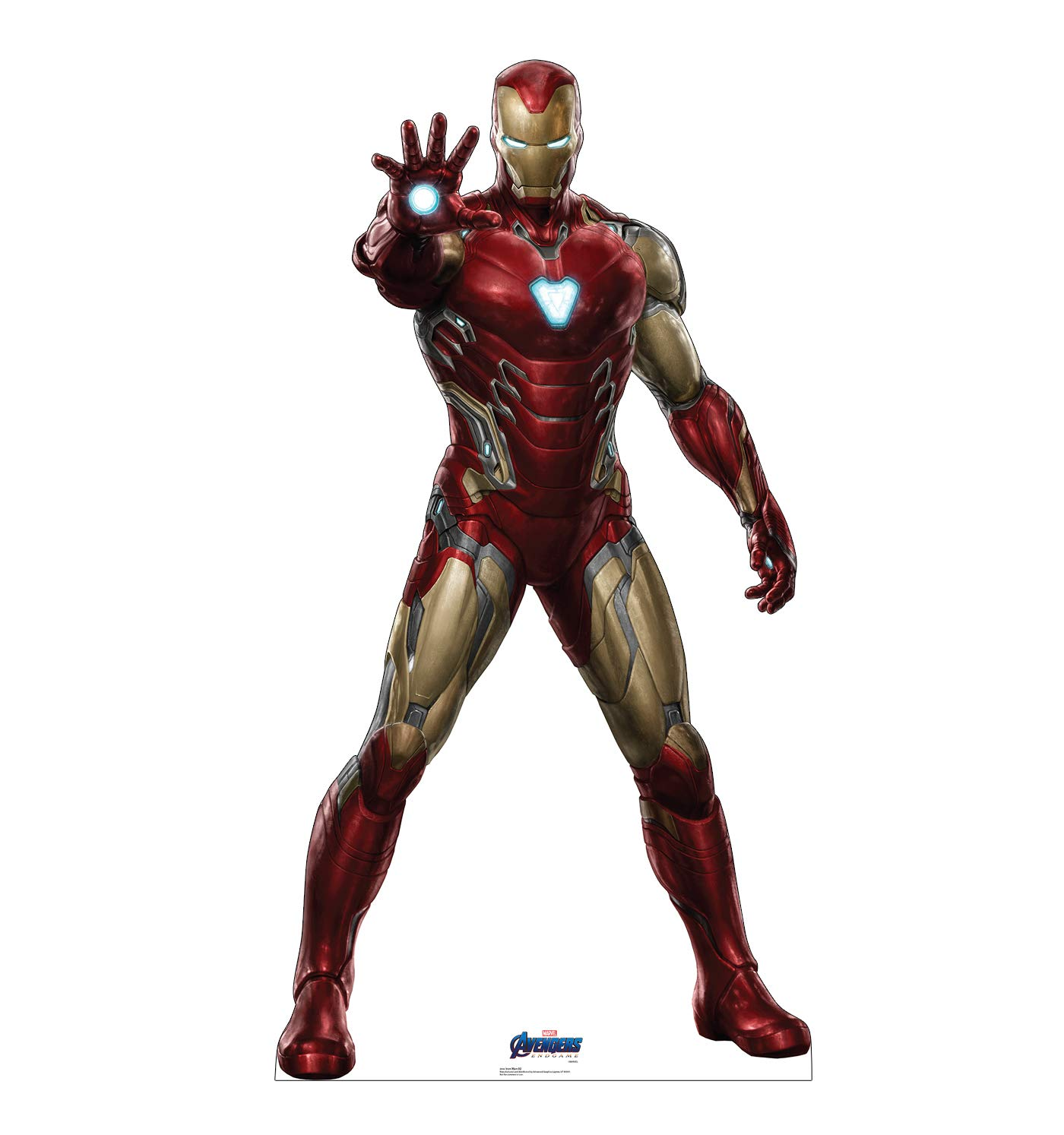 Advanced Graphics Iron Man Life Size Cardboard Cutout Standup - Marvel's Avengers: Endgame (2019 Film)