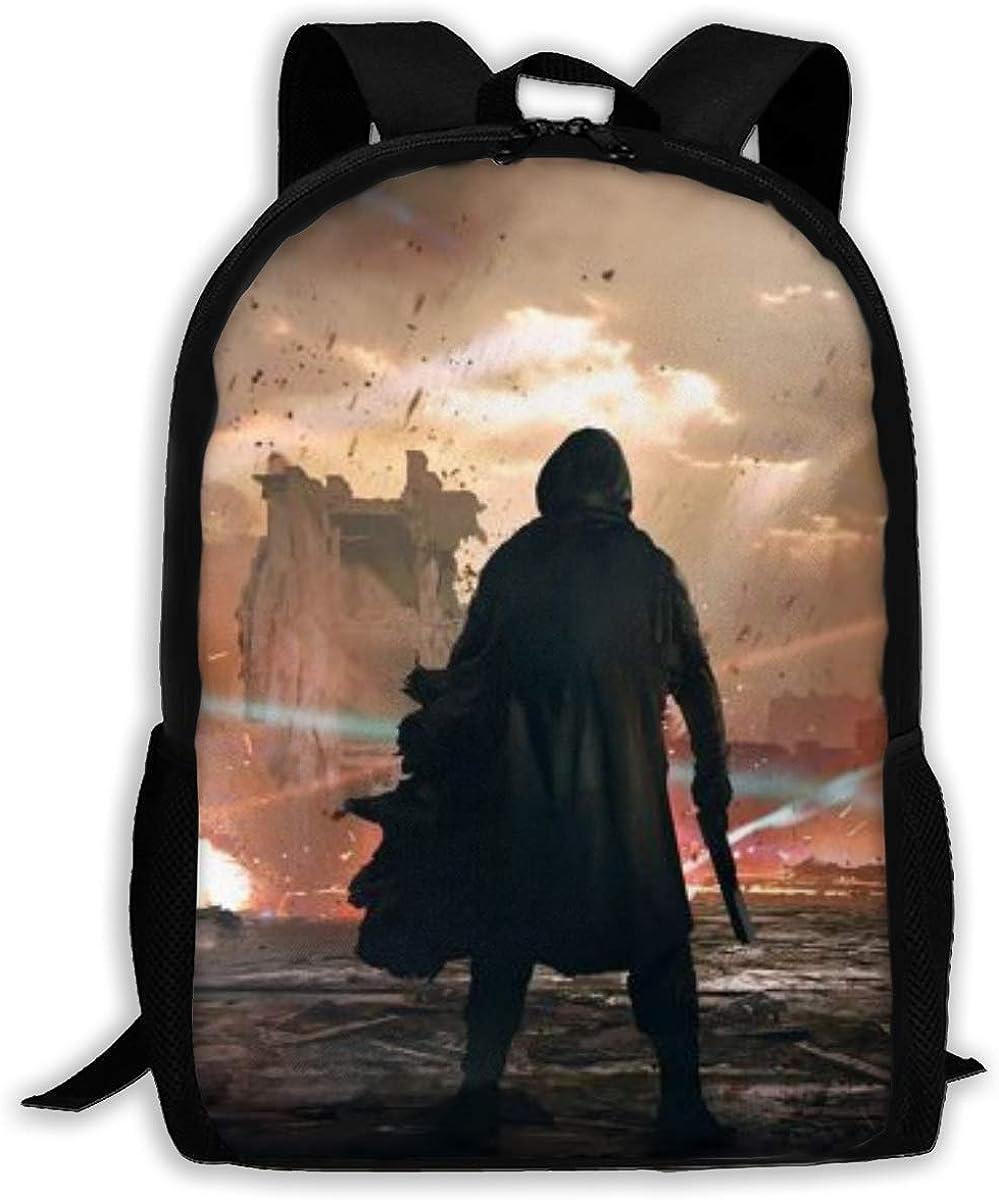 Destiny 2 Backpack School Bags Laptop Casual Bag Bookbag For Teen Boys Girls
