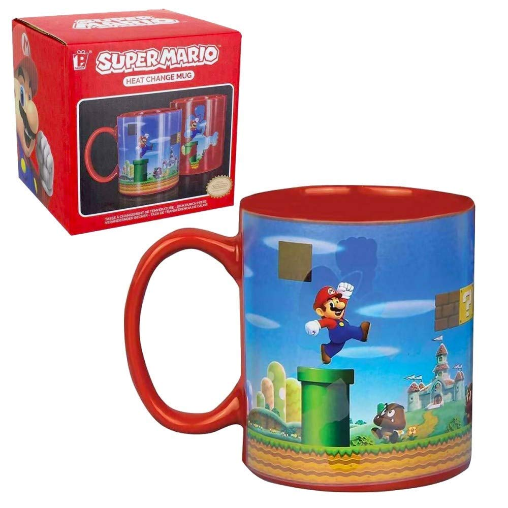 BrosHeat Change Mario Super Mario Super Change Super BrosHeat BrosHeat Mug Mug Mario srxQdBotCh