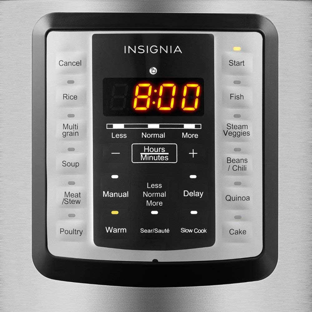 Insignia- 6-Quart Multi-Function Pressure Cooker - Stainless Steel by Insignia (Image #2)