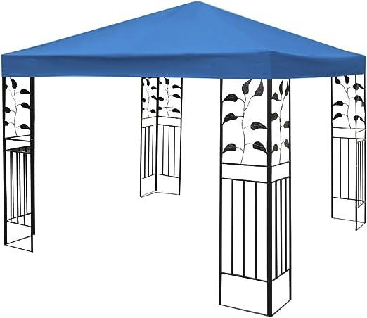 Lona Costway de repuesto para carpa de jardín, 3 x 3 m, de 1 o 2 alturas, en color beige, verde oscuro o rojo: Amazon.es: Jardín