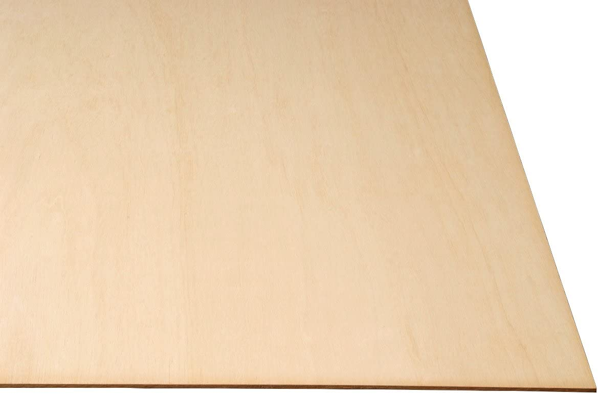 LASERWOOD Baltic Birch Plywood 1//8 x 12 x 20 by Woodnshop