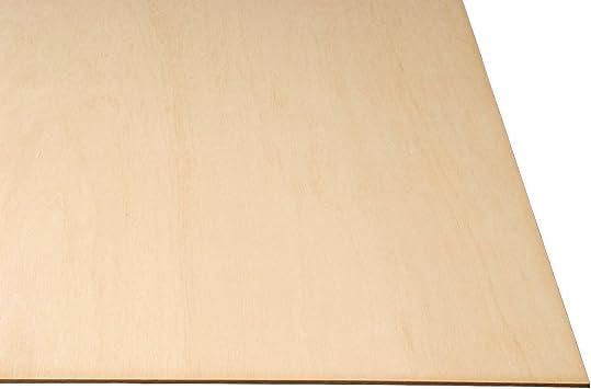 1//4 6 Sheets 6mm X 6  X 6  Baltic Birch Plywood