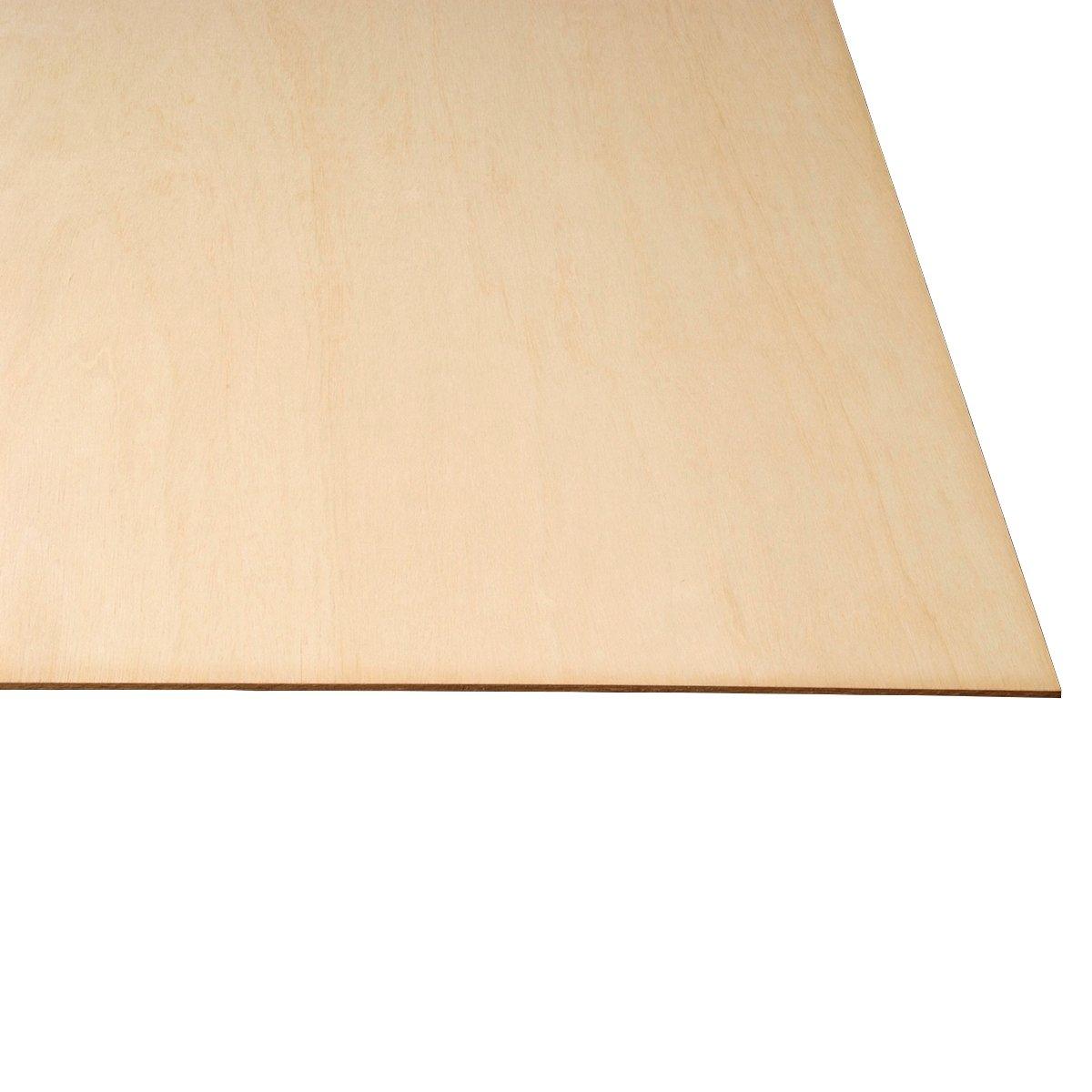 LASERWOOD Baltic Birch Plywood 1/8 x 24 x 36 PKG 5 by Woodnshop by WOODNSHOP