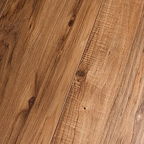 Inhaus Dynamic Highlands Rustic Pecan 12mm Laminate Flooring 35725 SAMPLE