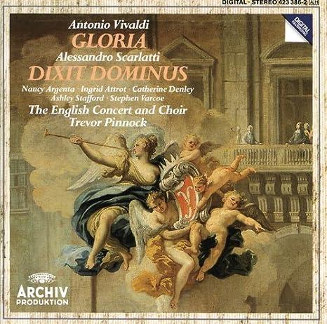 Vivaldi: Gloria ??? A Scarlatti: Dixit Dominus /Argenta ??? Stafford ??? Varcoe ??? Attrot ??? Denley ??? Pinnock by Alessandro Scarlatti: Alessandro Scarlatti, Antonio Vivaldi: Amazon.es: Música