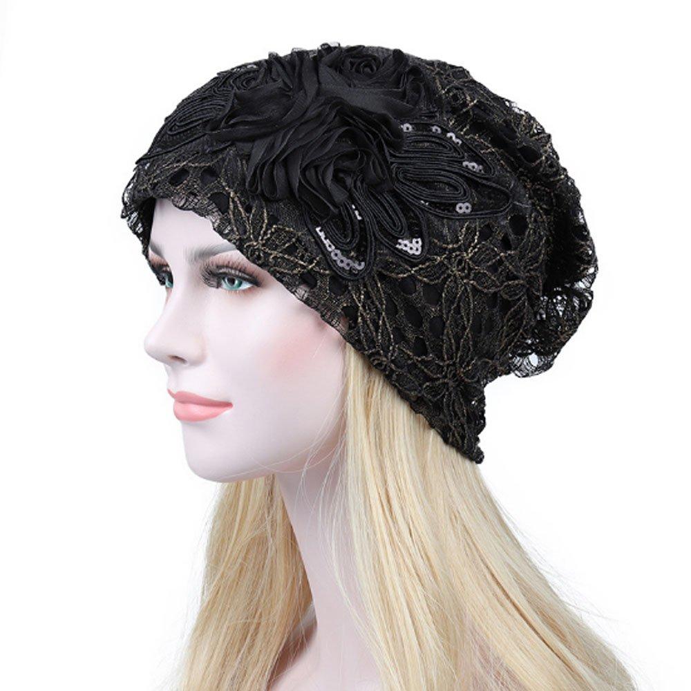 Fashionsupermarket HAT レディース B076BR3RJN ブラック ブラック