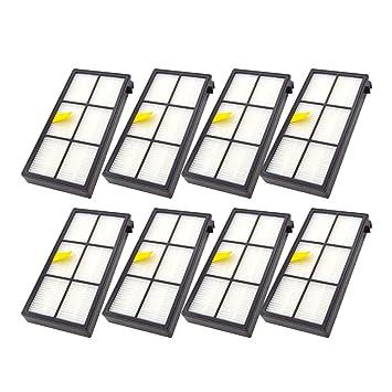 Fcostume - 8 filtros de Repuesto para aspiradora iRobot Roomba 860 880 805 860 980 960