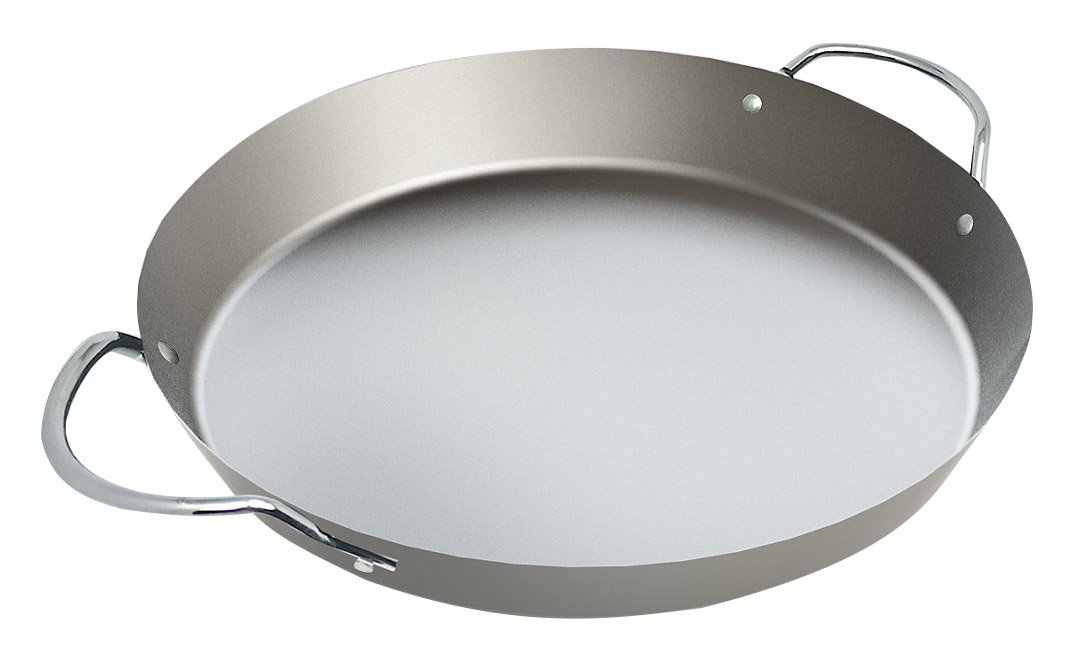 Campingaz Paella Pan - Accessory for Party Grill 600 Paella Pan Cooking Accessory - Silver 2000031339