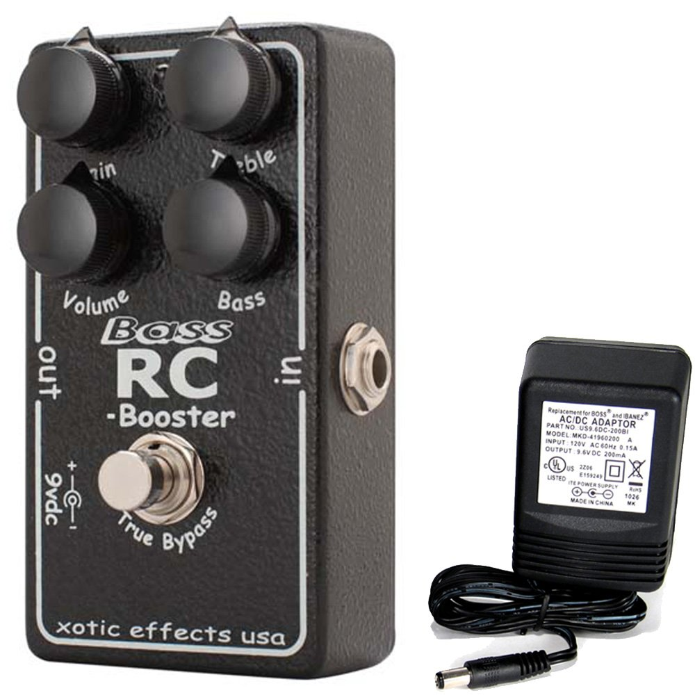 Xotic Effects Bass RC Booster Effects Pedal 4972