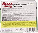Buzz Away Insect Repellent Towelettes, Extreme, 12-Count Package (Pack of 4)