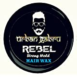 UrbanGabru Rebel Hair Wax : Medium Hold | Volume | Hair Style | Shiny finish | Natural Hair wax