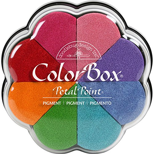 CLEARSNAP ColorBox Pigment Petal Point Option Pad, Fun, Multicolor
