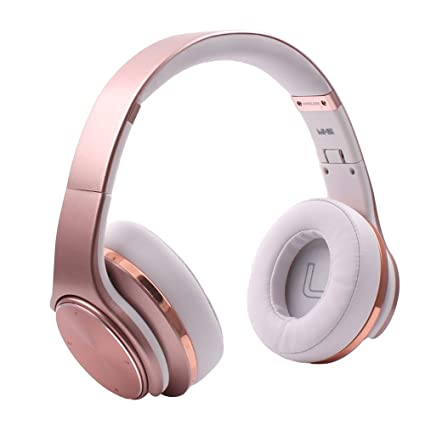 iprotect Auriculares Bluetooth Cascos over ear inalámbricos con micrófono integrado para dispositivos Android e iOS -