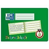 Oxford Schreiblernheft, A5 quer, Lineatur 0, 16 Blatt, grün