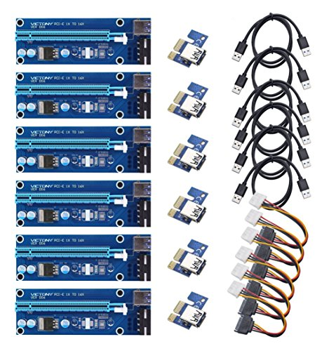 Picture of a VICTONY 6Pack PCIe VER 006 734009723454