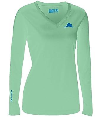 83015574 Amazon.com: Pelagic Women's Oceanflex Solar Performance Long Sleeve ...