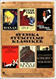Swedish Silent Film Classics Collection - 6-DVD Box Set ( Häxan / Terje Vigen / Gösta Berlings saga / Erotikon / Herr Arnes pengar / Körkarlen ) ( Häxan: [ NON-USA FORMAT, PAL, Reg.2 Import - Sweden ]
