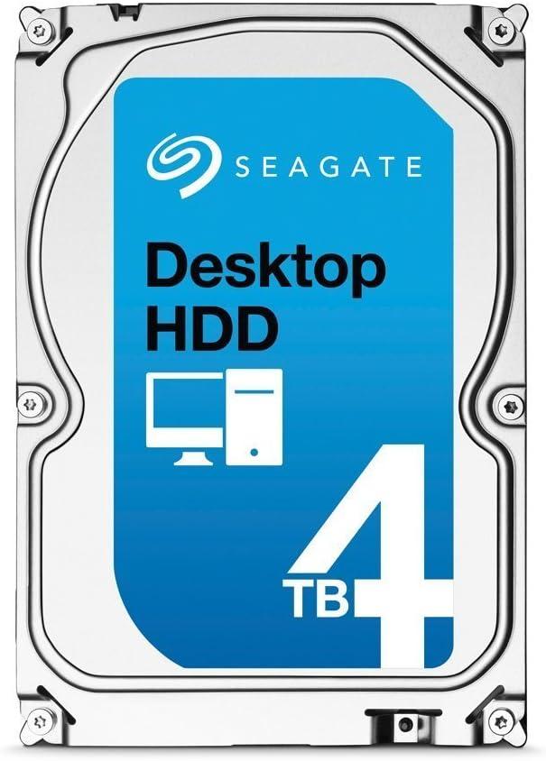 Seagate SATA 6Gb/s 3.5-Inch 4TB Desktop HDD (ST4000DM000) (Renewed)