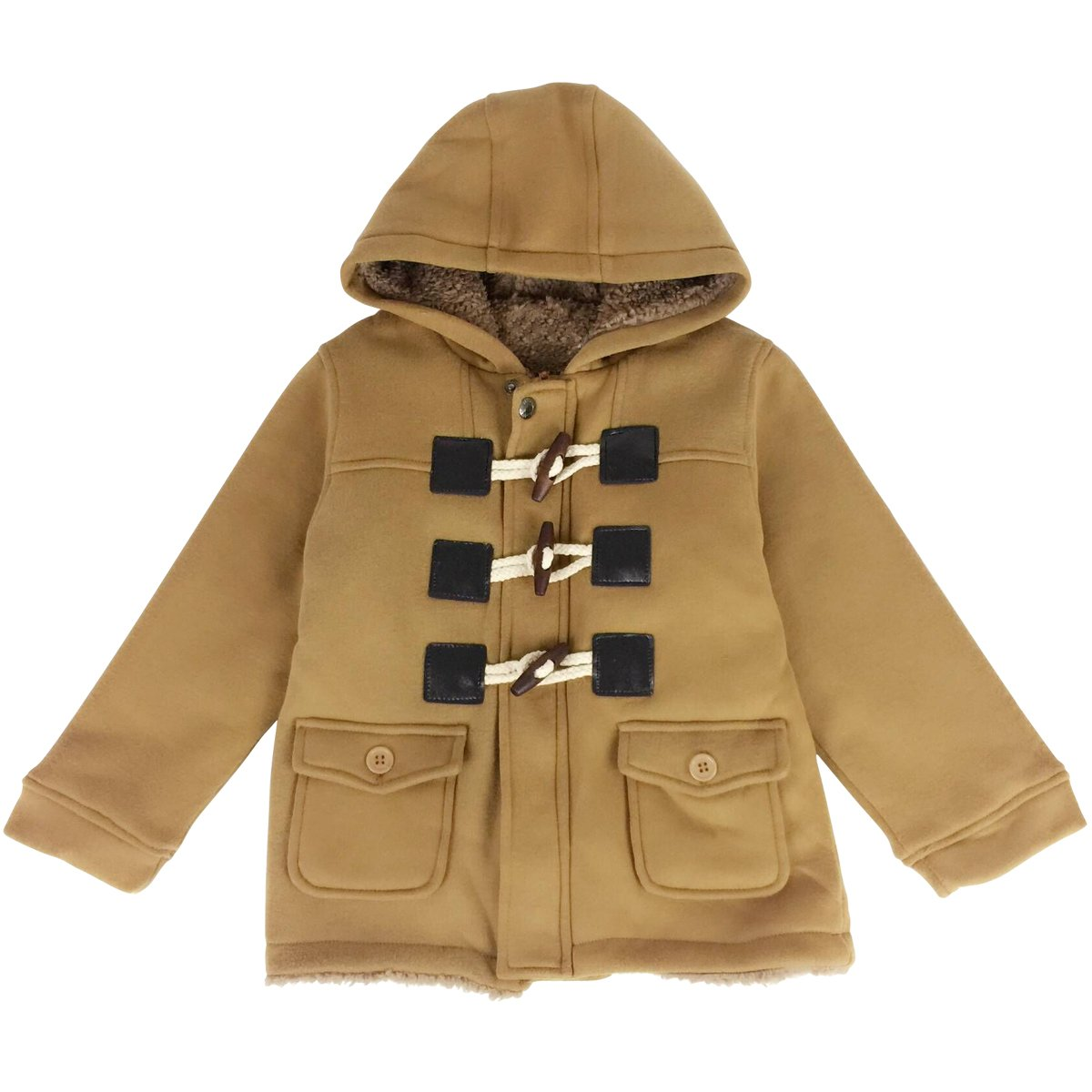 08c67a2d3 Amazon.com  Jastore Unisex Baby Boys Girls Winter Warm Hooded Coat ...