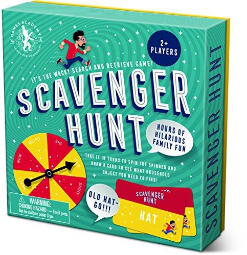 Professor Puzzle Games Scavenger Hunt