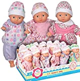 mini baby dolls - Toysmith Mini Babies Toy (Sold Individually - Outfits and Skin Color Vary)