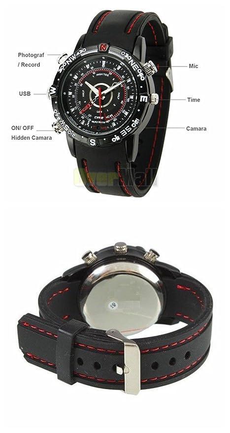 WITHTECH Reloj con Camara ESPIA